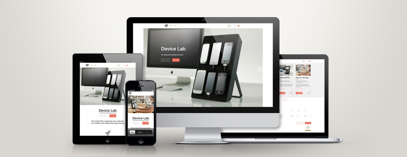 Device Lab E-commerce website