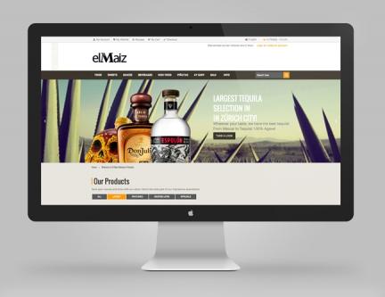 El Maiz – Ecommerce website